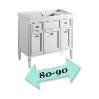Мебель для ванной  81-90 см