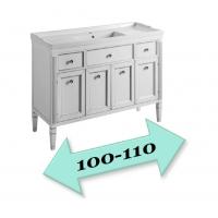 Мебель для ванной 101-110 см