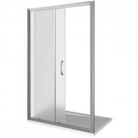 Раздвижные душевые двери