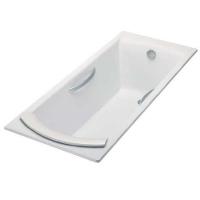 Jacob Delafon Biove E2938 Ванна чугунная с отверстиями 170x75см