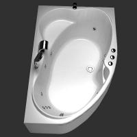 Aquanet Capri Ванна гидромассажная 170x110 R/L
