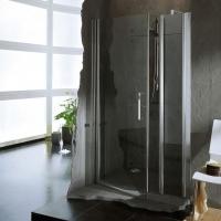 Novellini Giada G+F In Line Душевая дверь 162-168 см