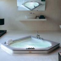 Jacuzzi Aura Corner Stone/Wood Ванна гидромассажная 140x140