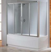 Novellini Lunes 2AV Шторка на ванну 150/170/180 см