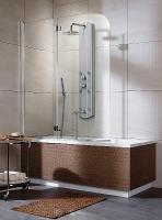 Radaway Eos PND Шторка на ванну 130 L/R