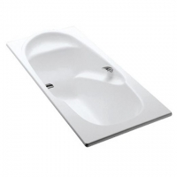 Jacob Delafon Adagio E2910 Ванна чугунная с отверстиями 170x80см