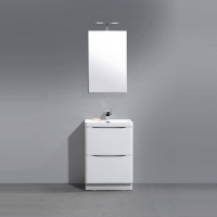 BelBagno Ancona-N-600-2C-PIA-BL Мебель для ванной напольная