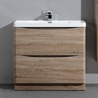 BelBagno Ancona-N-800-2C-PIA-BL Мебель для ванной напольная