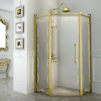 Fra Grande Палаццо Душевое ограждение 100x100 см