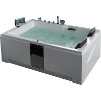 Gemy G9061 new O Ванна гидро- аэромассажная 180х120 см