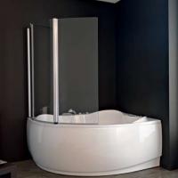 Kolpa San Sole TP 143 Шторка для ванны 143х140 см