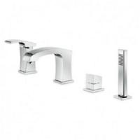 Newform X-Sense 62582С смеситель для ванны хром (Swarovski)