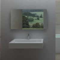 Ns Bath NSS-8048M Раковина подвесная 80 см