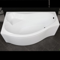 Aquanet Palma Ванна гидромассажная 170x90/60 R/L