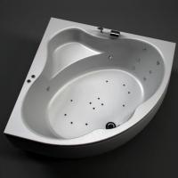 Aquanet Santiago Ванна гидромассажная 160x160
