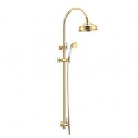 Boheme Imperiale 402 Душевая стойка с верхним душем Gold