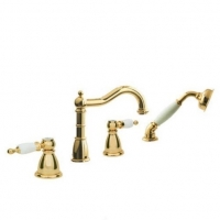 Boheme Tradizionale Oro 395 Смеситель на борт ванны