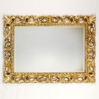 Caprigo PL 106-O1 Зеркало в багете 115x87