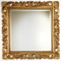 Caprigo PL 109-O Зеркало в багете 100x100