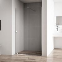 Cezares Stream-BF-1-110-C-Cr Душевая дверь раздвижная 125-110 см
