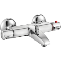 E.C.A Thermostatic 102102340 Смеситель для ванны, настенный монт