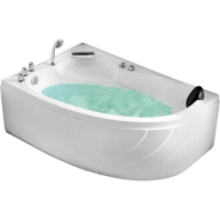 Gemy G9009 B Ванна гидромассажная угловая 150х100