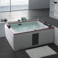 Gemy G9052-II B Ванна гидромассажная 185х150 см