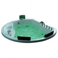 Gemy G9053 K Ванна гидро-аэромассажная круглая 185х162 см