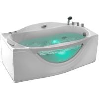 Gemy G9072 B Ванна гидромассажная 170х92 L/R