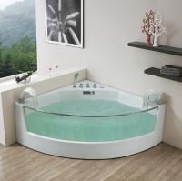 Gemy G9080 Ванна аэромассажная угловая 150х150 см