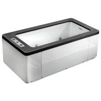 Gemy G9253 black Ванна отдельностоящая 170х90 см