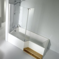 Jacob Delafon Bain Douche Neo Шторка на ванну 115x145 см