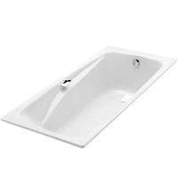 Jacob Delafon Repos E2929 Ванна чугунная с отверстиями 160x75см