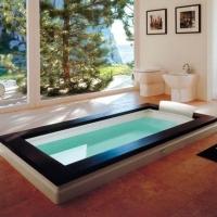 Jacuzzi Aura Uno Design Wood ванна встраиваемая 180x90 см
