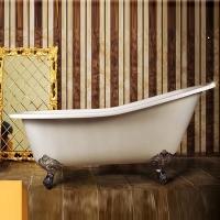 Magliezza Beatrice Ванна чугунная на ножкаx 153x76,5 см