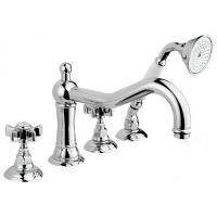 Nicolazzi Classica Lusso 1449CR Смеситель на борт ванны, хром