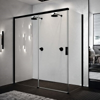 Novellini Opera PH+FH OPEPH139S(D)-1U Душевая дверь 139 см