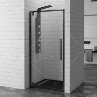 RGW Stilvol SV-02 Black Душевая дверь 80/90/100 см