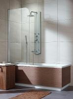 Radaway Eos PNJ Шторка на ванну 70 L/R