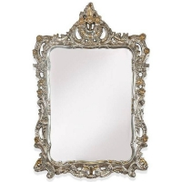 Tiffany World TW02002 avorio/oro Зеркало в раме, 71 см