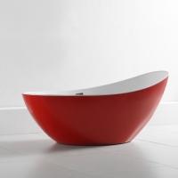 Abber AB9233R Акриловая ванна 184x79