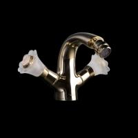 Boheme 296-Camelia Смеситель для биде, золото
