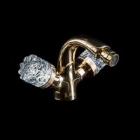Boheme 296-Royal-CRST Смеситель для биде, золото