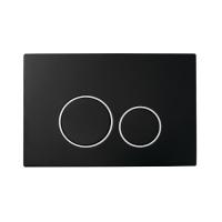 Boheme 662 Кнопка для инсталляции, пластик Black Chromo