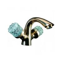 Boheme Crystal 311-CRST Смеситель для раковины, бронза