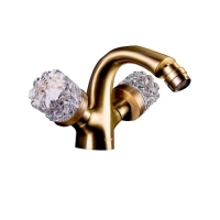 Boheme Crystal 316-CRST Смеситель для биде, бронза