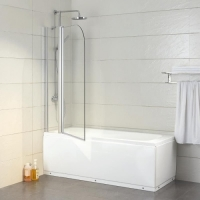 Bravat Alfa BG110.5111A Шторка на ванну 110x135