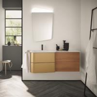 Burgbad Badu Мебель для ванной 122 см, цвет корпуса K0545 корица