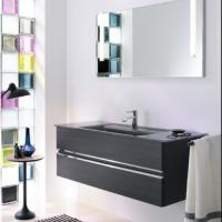 Burgbad Bel Мебель для ванной 122 см, цвет Hacienda черный F0580
