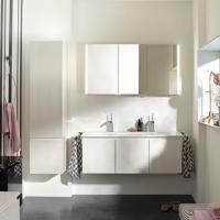 Burgbad Bel Мебель для ванной 123 см, цвет белый глянцевый F0590